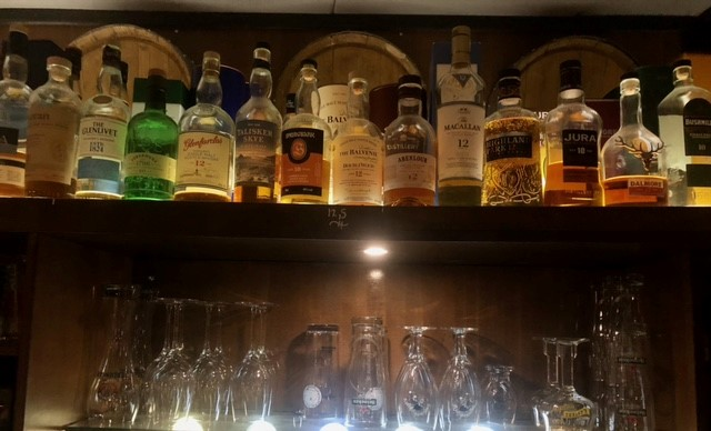 Lemmy's Whisky kaart