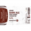 Sour Dark Ale Port Barrel Fermented